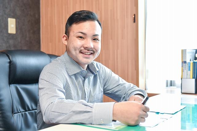 代表挨拶 大分県中津市 土木工事 警備 株式会社天峰